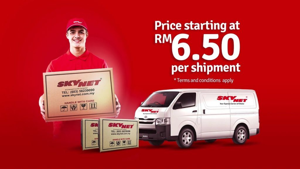 skynet cheapest courier in malaysia